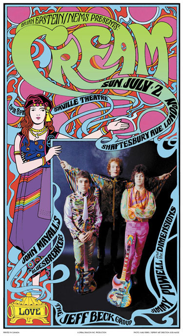 Cream @ the Saville Theatre 1967